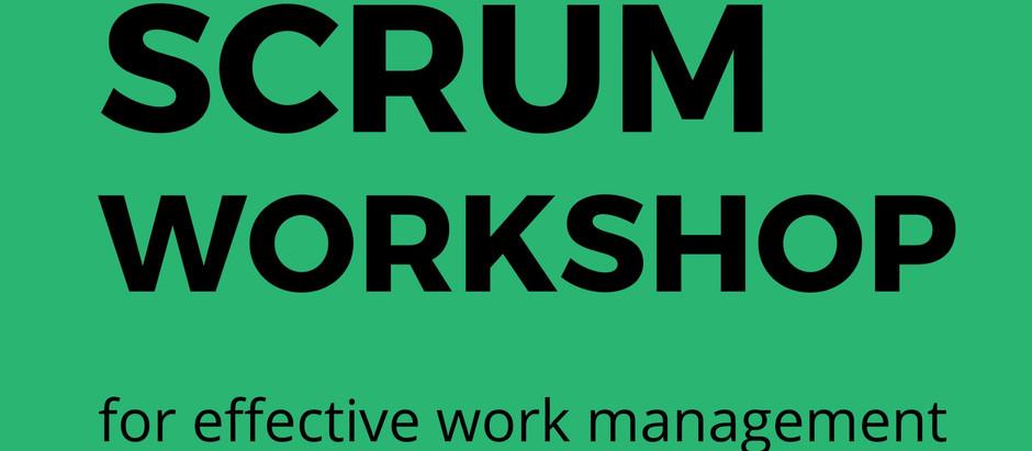 Scrum Workshop for Boost Up Effective Team Work