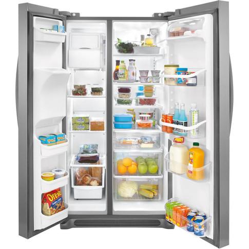 Frigidaire 26 Cu Ft Side By Side Refrigerator