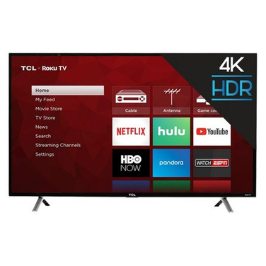 TCL 4K UHD TV w/HDR Roku TV