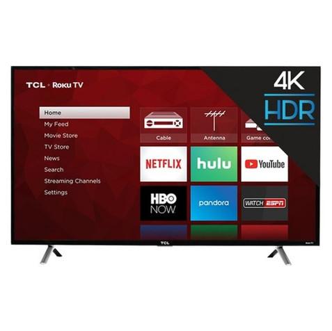 TCL 4K UHD TV w/HDR Roku TV