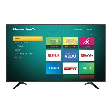 HISENSE  4K UHD TV w/HDR - Roku TV