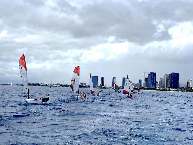 Junior Sailors in Hawaii