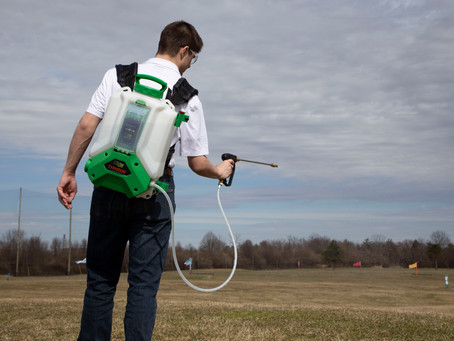 A Case for Battery Powered Sprayers