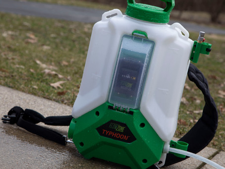 Sprayer Battle: The Pest and Lawn Ginja compares FlowZone vs. Chapin