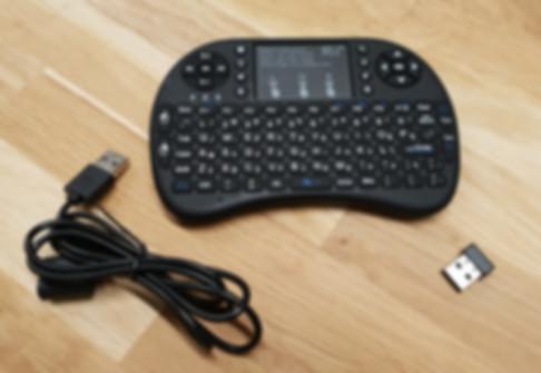 Rii i8+ plus mini keyboard מקלדת מיני אלחוטית לסטרימר