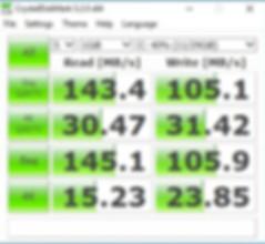 MINIX NEO Z83-4 סיקור סקירה ביקורת בדיקת מהירות דיסק BENCHMARK DISK