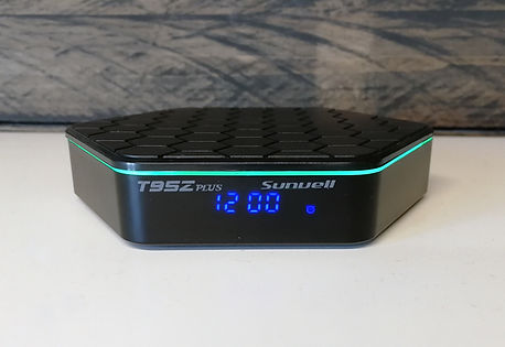 Sunvell T9Z Plus Stramer tv box kodi סטרימר קודי