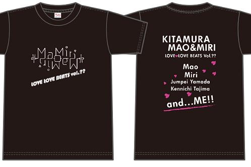 love♡love beats Tシャツ