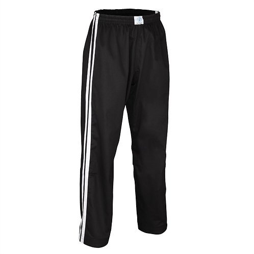 Double Stripe Contact Pant Black/White