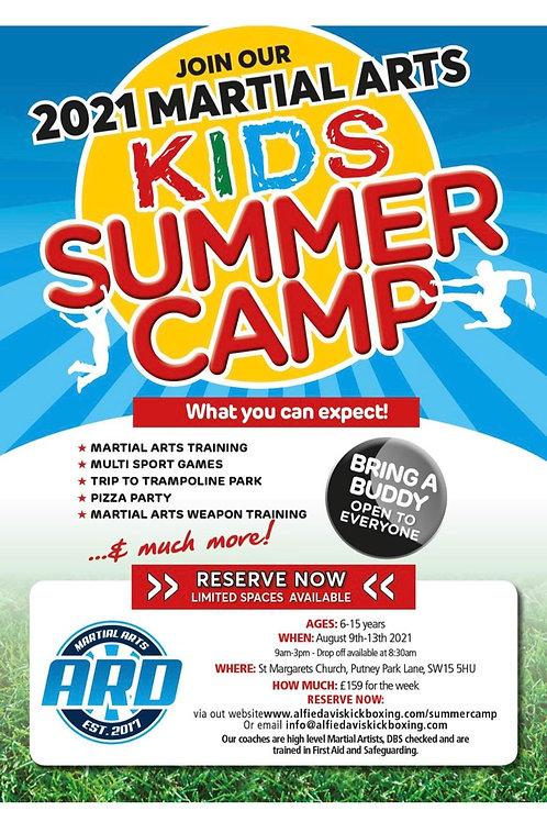 Kids Summer Camp (9th-13th August)