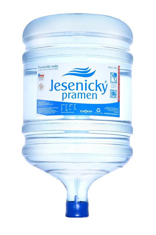 Barel s pramenitou vodou - vratný zálohovaný 18,9 l