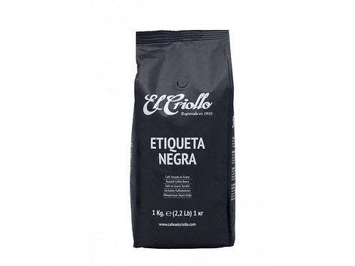 Zrnková káva El Criollo Etiqueta negra 100% Arabica