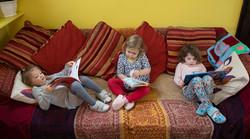 Reading sofa  corner