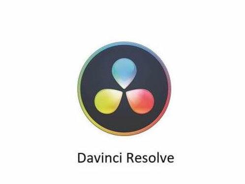 Blackmagic Davinci Resolve Color Correction Module Certified Course