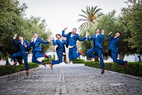Wedding photographer Marbella, Groomsmen