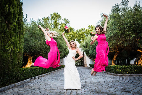 Wedding photographer Marbella, bridesmaids