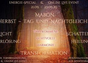 """EnergieSpecial  """"Mabon ~ Herbst - Tag und Nachtgleiche"""""""