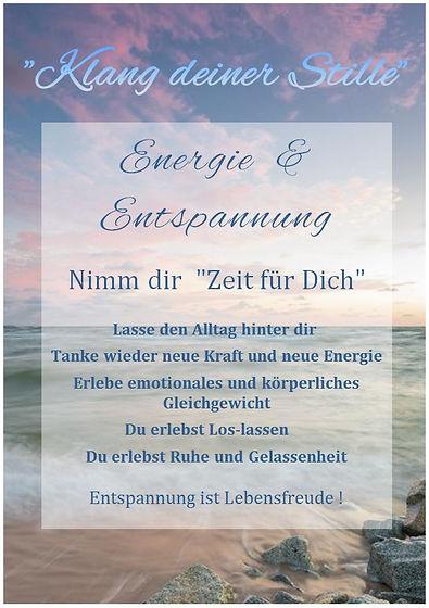 Plakat Online Energie & Entsp Abend Erw.