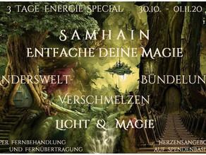 """EnergieSpecial """"Samhain  –  Entfache deine Magie"""""""