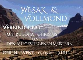 WESAK & Vollmond  Online Event  am 07.05.2020 um 19 Uhr