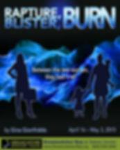 Rapture, Blister, Burn poster