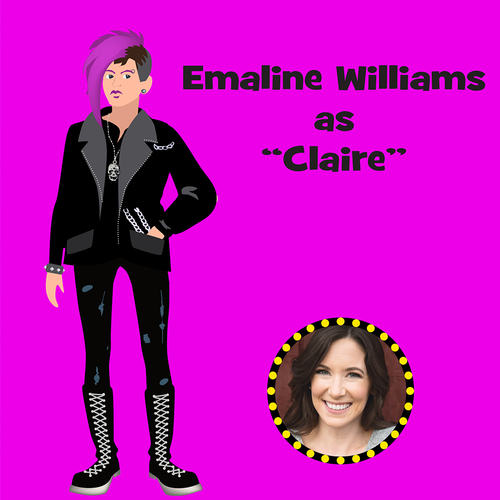 "Emaline Williams as ""Claire"""