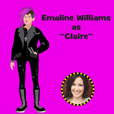 """Emaline Williams as """"Claire"""""""