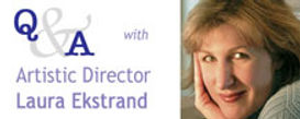 Link to Q & A with Laura Ekstrand