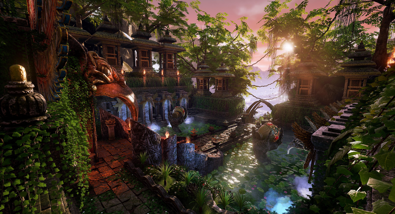 Garuda's Temple - Courtyard
