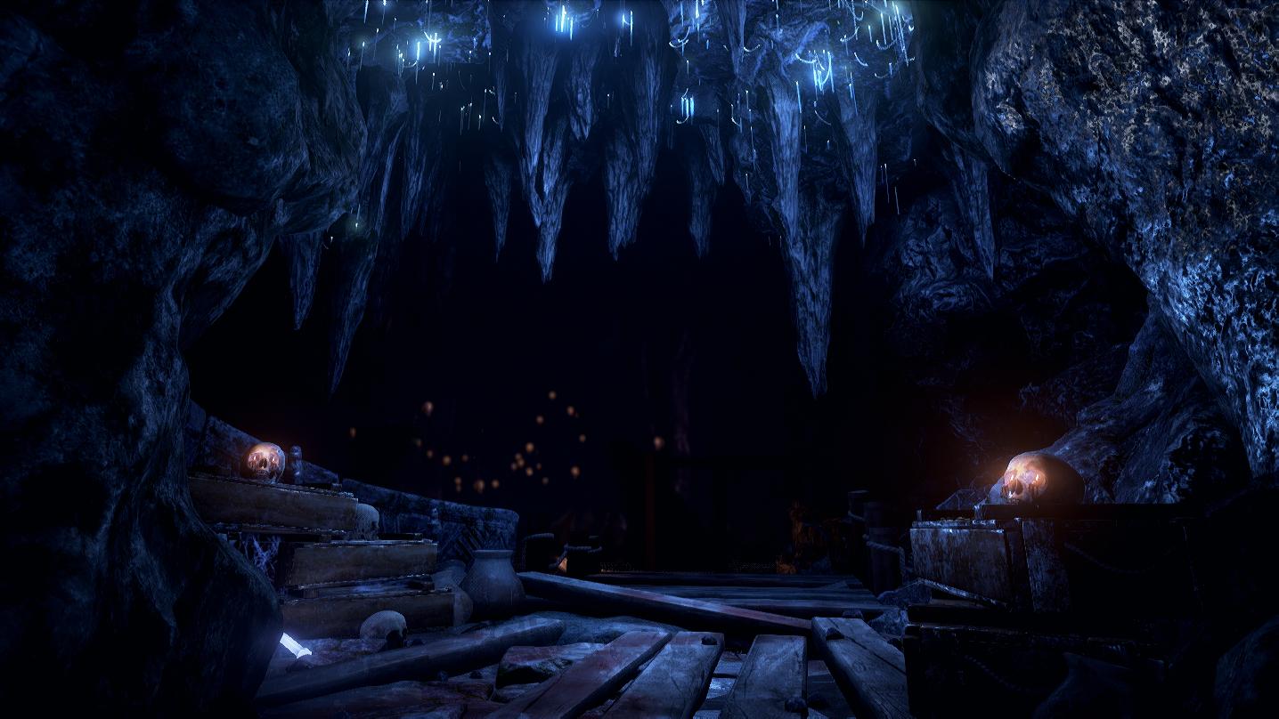 Garuda's Temple - Cave