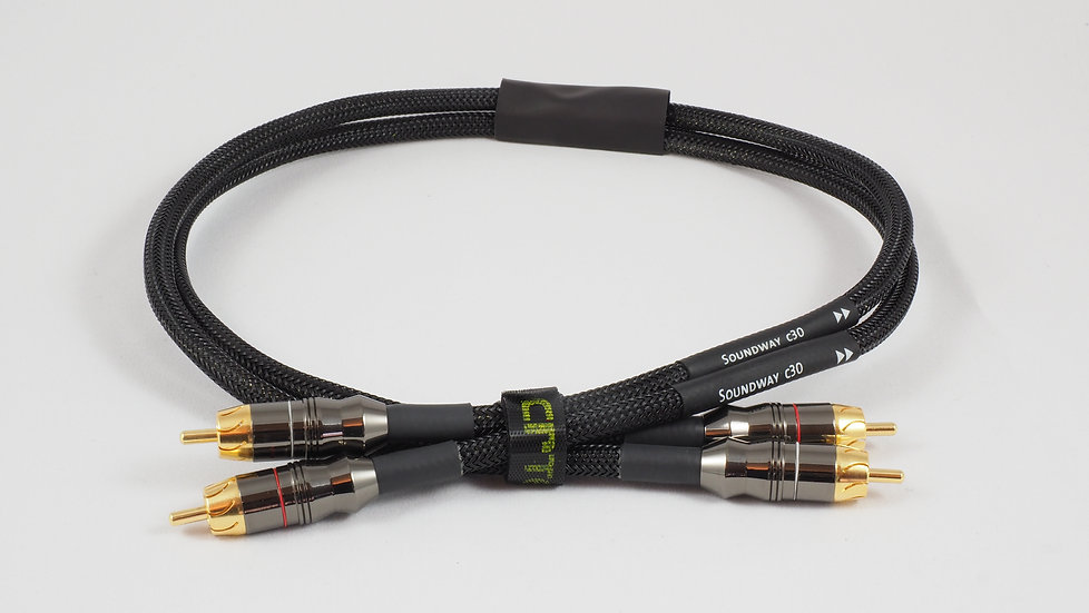 Soundway C30 Cinch Kabel, 0.7m