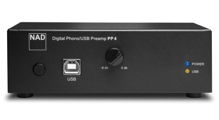 NAD PP-4 USB MM/MC-Vorverstärker
