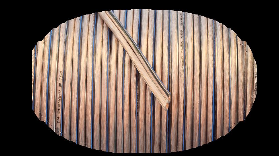 Goldkabel SPEAKER-FLEX transparent