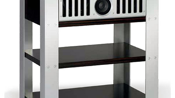 Burmester Center C8 mit Rack Makassar
