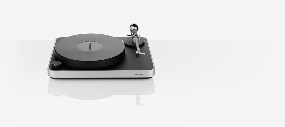 Clearaudio Concept Black-Silver
