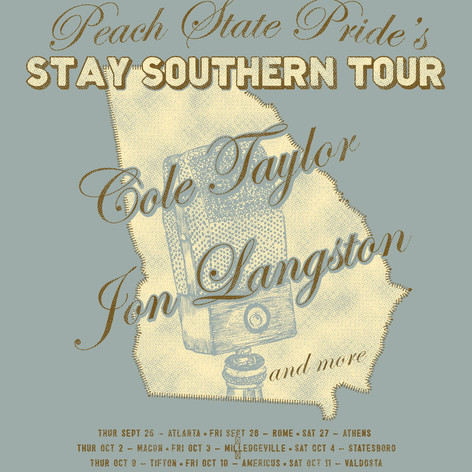 Peach State Pride-Stay Southern Tour-Des
