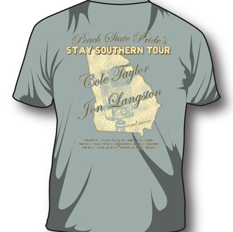 Peach State Pride-Stay Southern Tour-shi