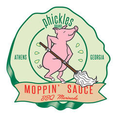 Phickles Moppin Sauce Logo