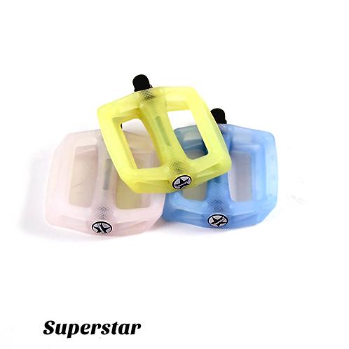 Superstar Plastic UV Pedals