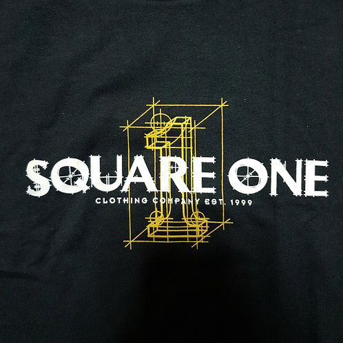 Square One Blue Print Logo
