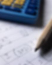Canva - Pencil calculator and math homew