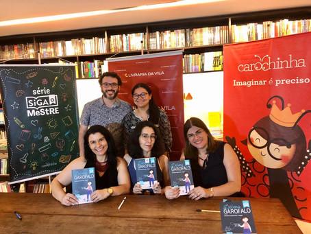 Lançamento do livroDéboraGarofalo: no meio do caminho tinha... coragem