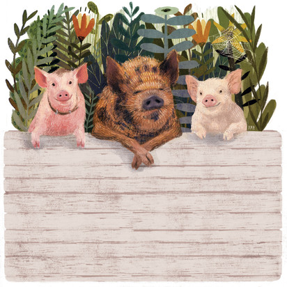 Victoria-Borges-art-illustration-pigs-animals