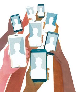 Victoria-Borges-art-illustration-cell phone-smartphone