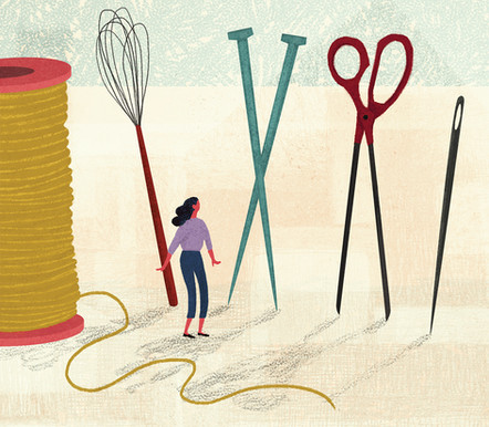Victoria-Borges-art-illustration-crafts-scissors