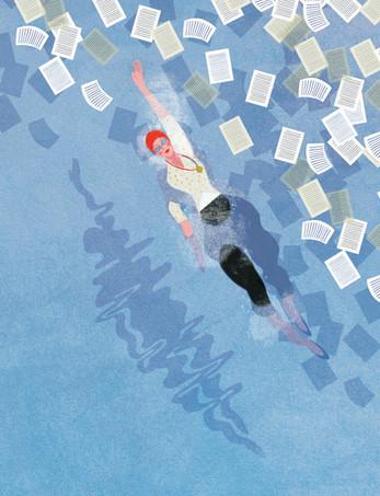 Victoria-Borges-Art-illustration-swim-water-olympics