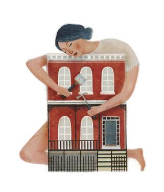 Victoria-Borges-Art-Illustration-woman-portrait-home-renovation