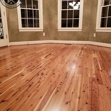 Australian Cypress Refinish we completed