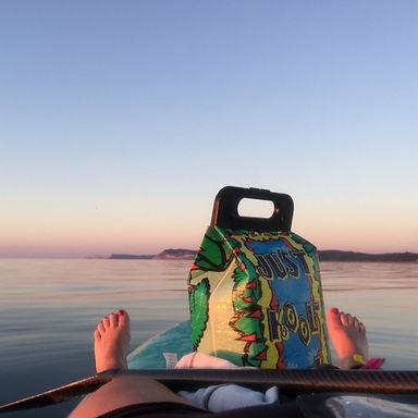 Lake Michigan Paddleboard relax