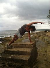 Steps Beach PR Yoga